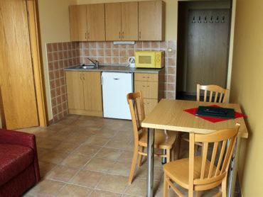 Pětilůžkový apartmán s kuchyňkou